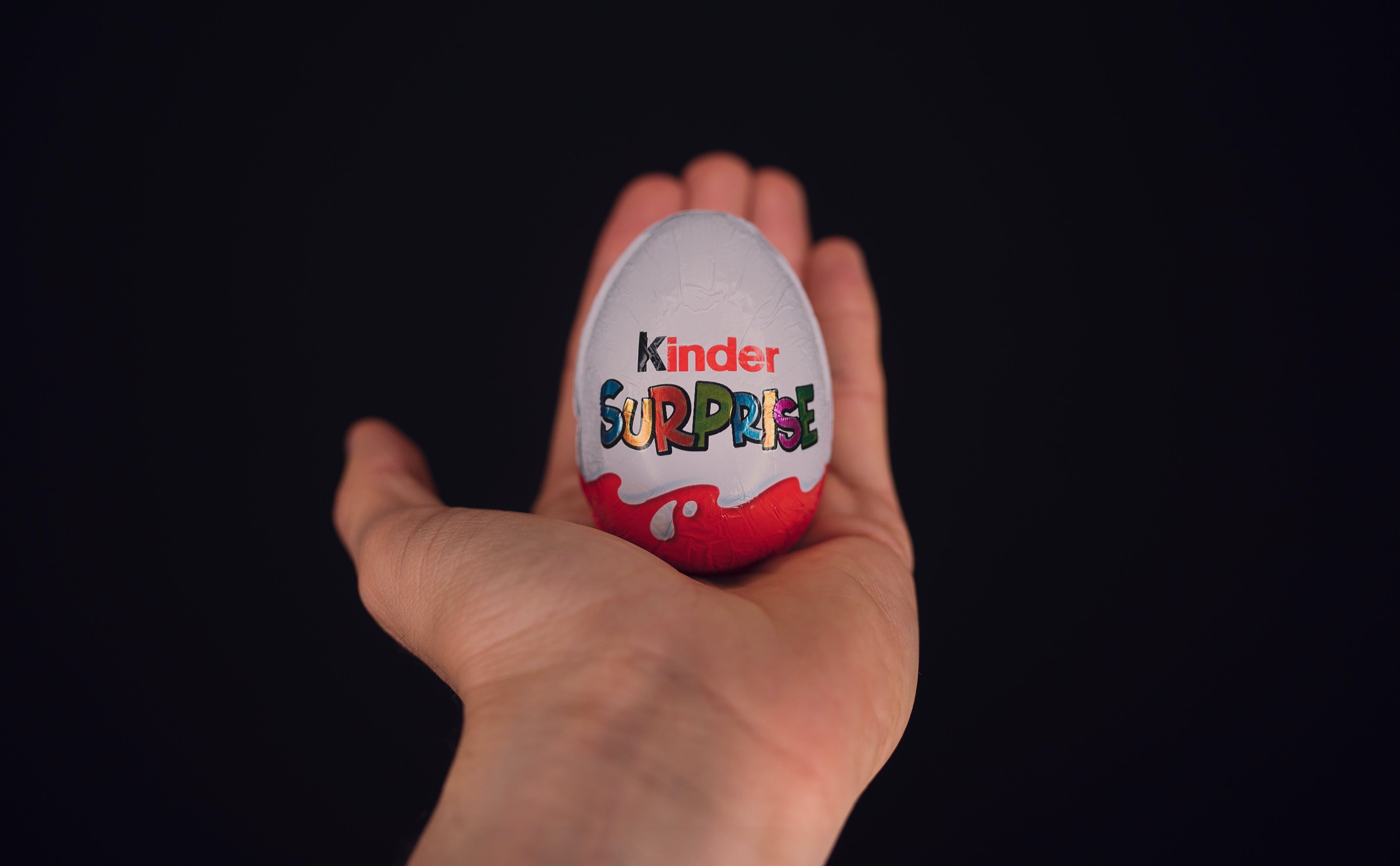 Free stock photo of kinder chocolate, photography