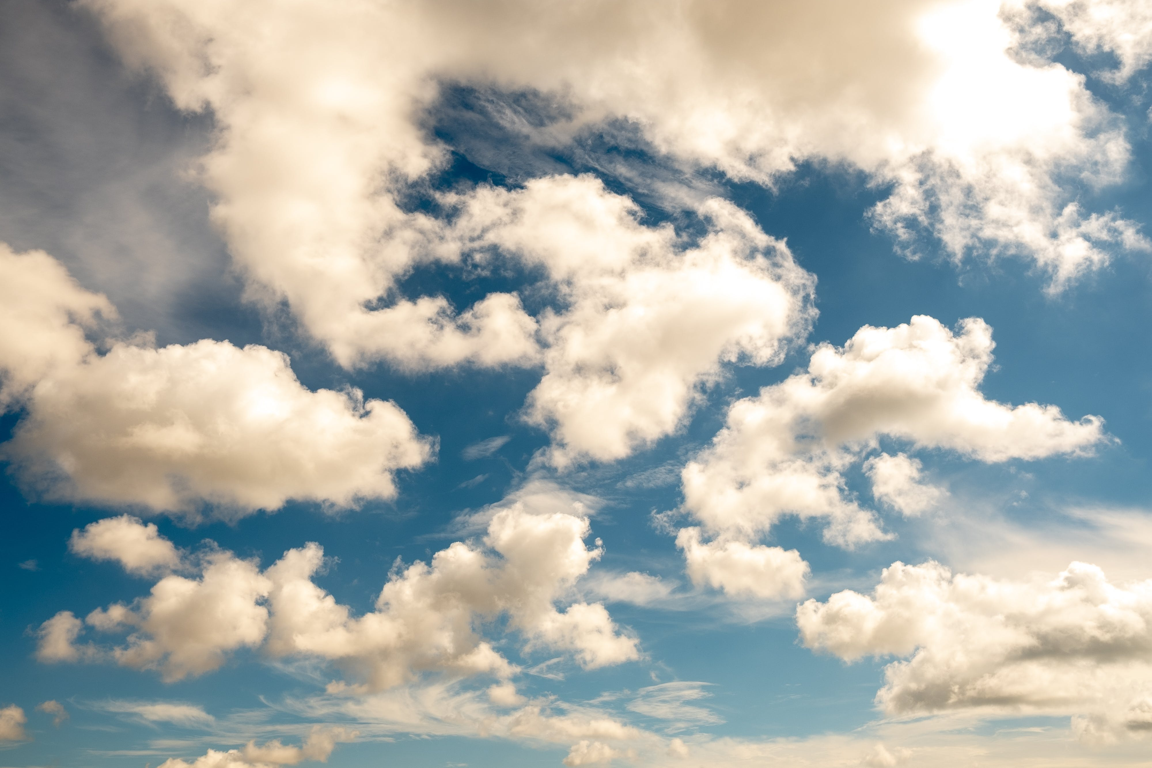 Free stock photo of artsy, background, blue, cloud