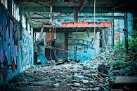 graffiti, dirty, building