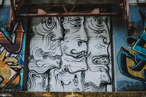 Foto profissional grátis de arte, arte de rua, artístico, cores