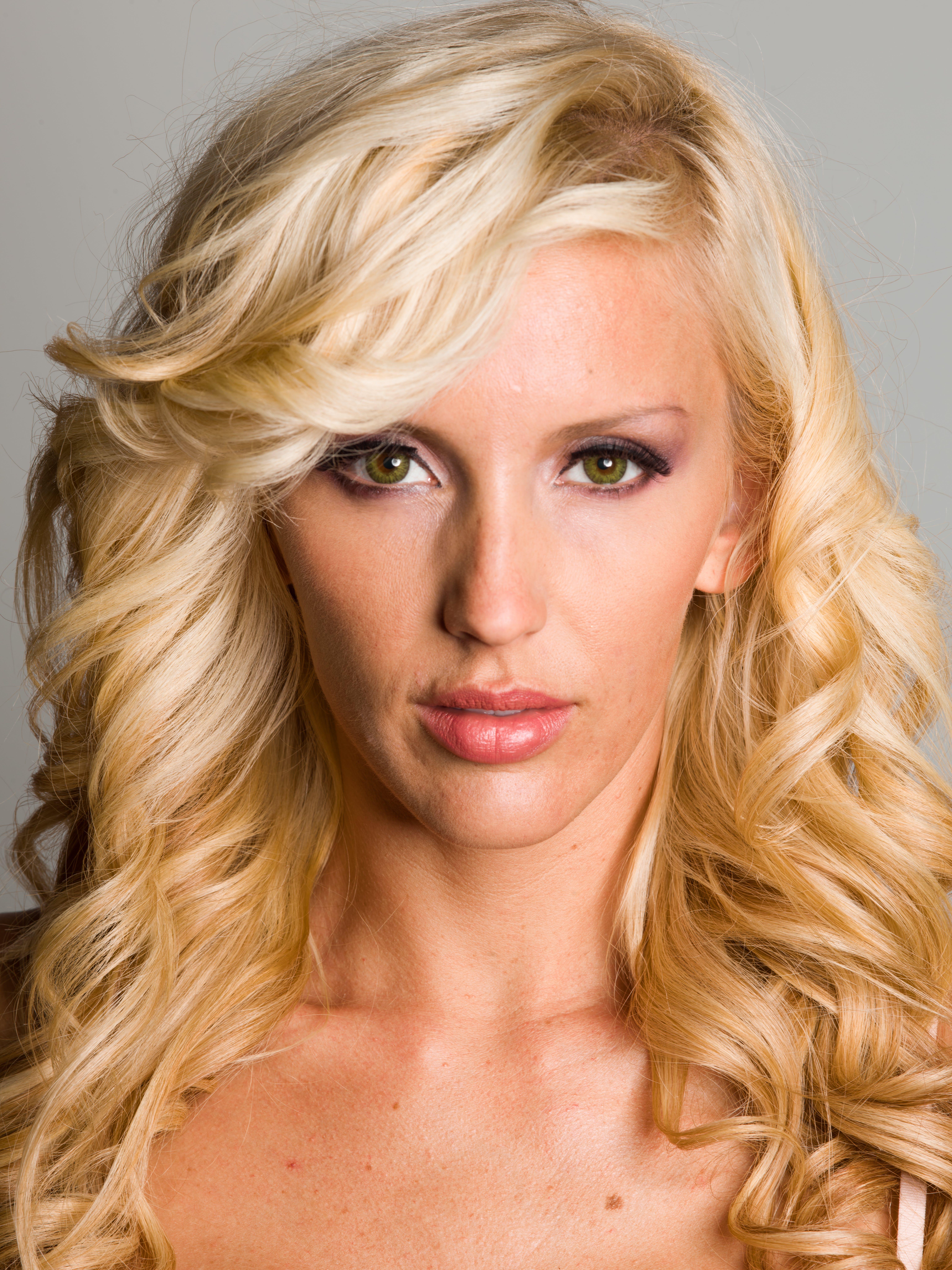 Portrait Photo of Blonde Woman