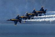 flight, smoke, aviation