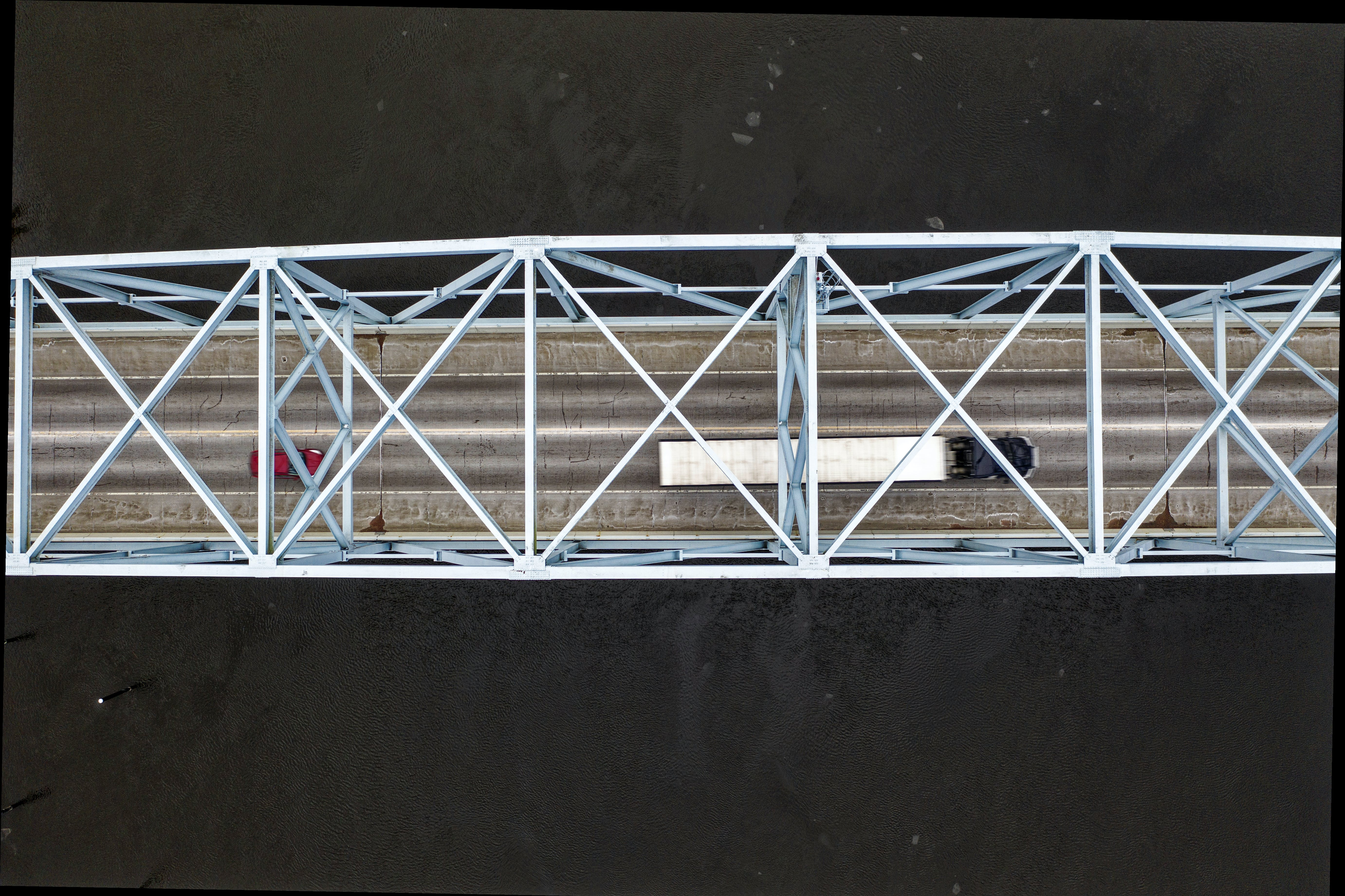 Truck On Bridge