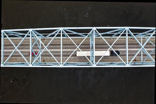 Ingyenes stockfotó építészet, felülről, híd, járművek témában