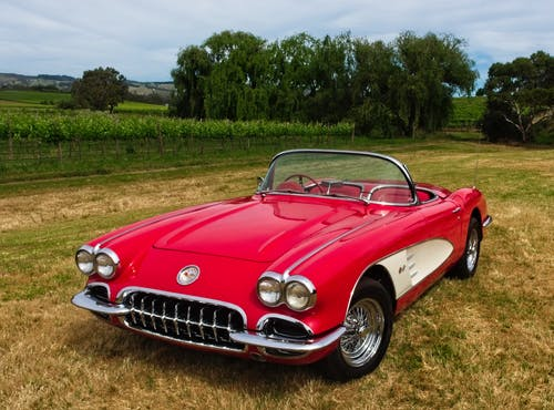 Free stock photo of classic car, corvette, sports car