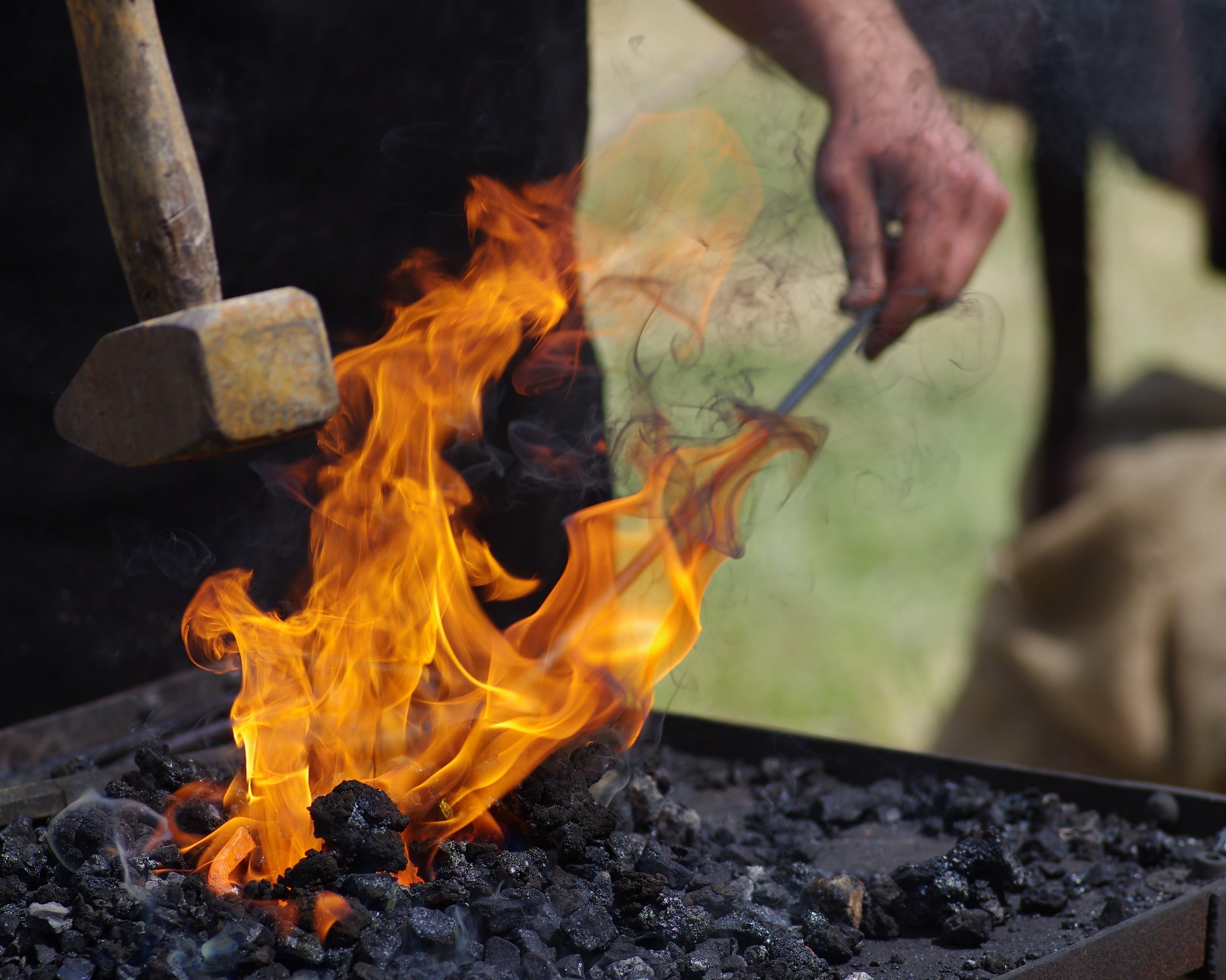 Free stock photo of art, blacksmith, craft, eisenwerk