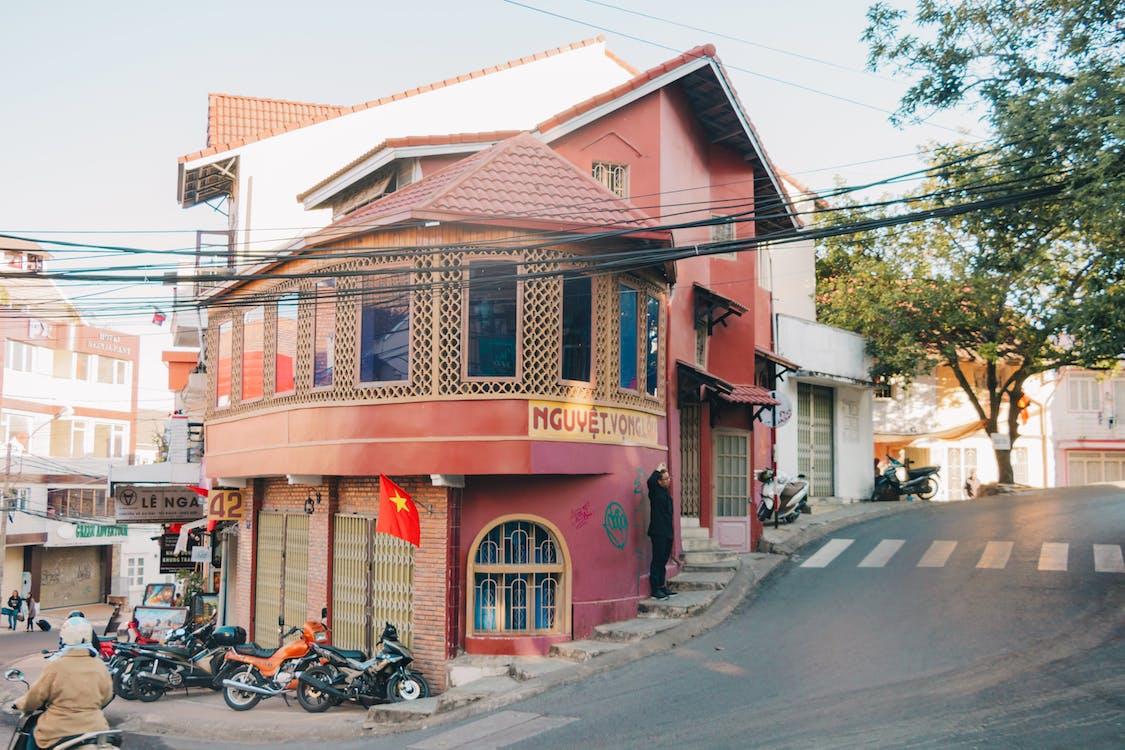 architektura, budova, fasáda