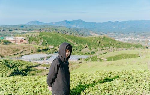 Foto stok gratis bidang, lahan pertanian, laki-laki, lingkungan Hidup
