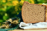 bread, food, healthy