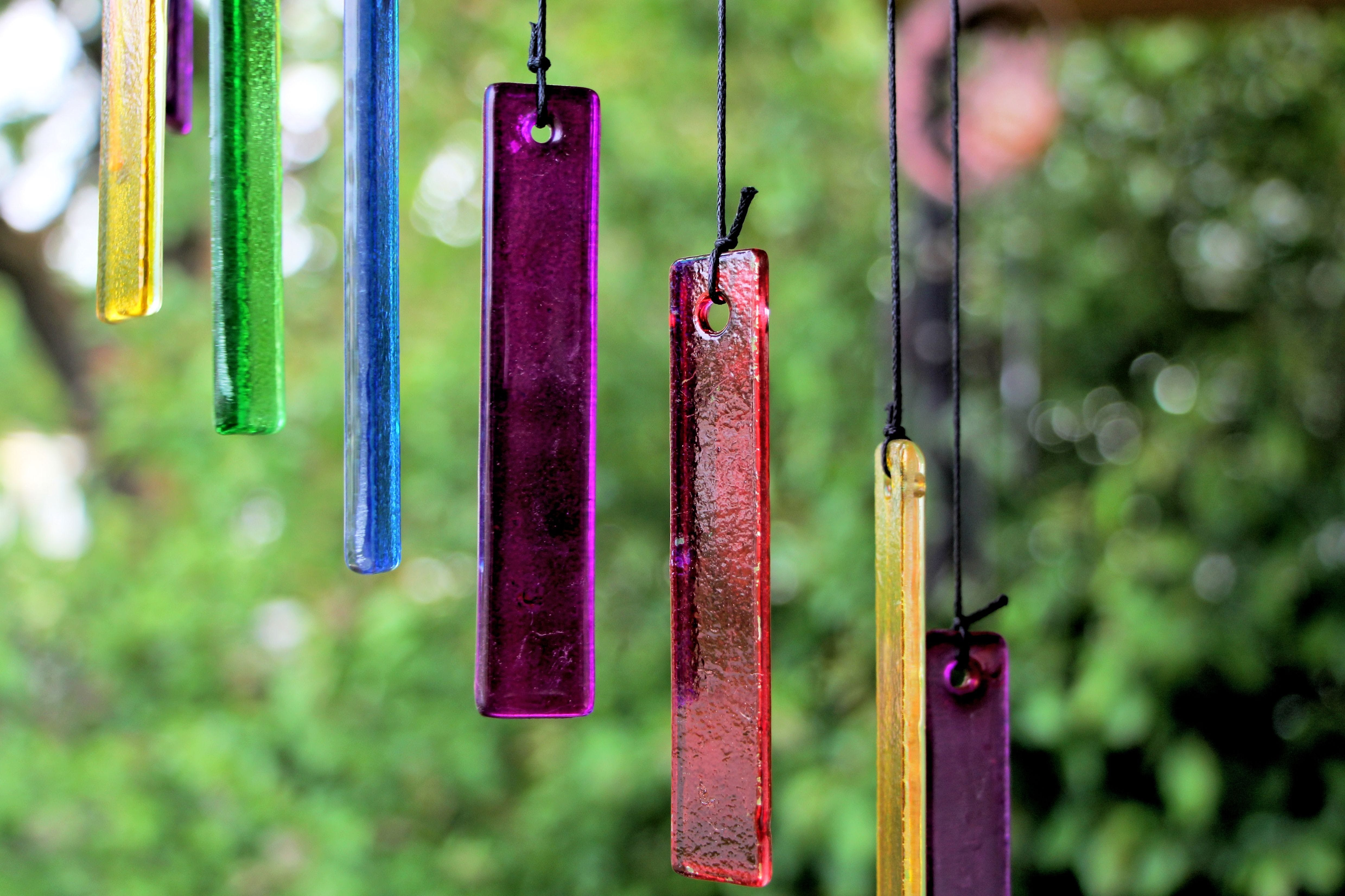 Free stock photo of blue, chime, color, colorful