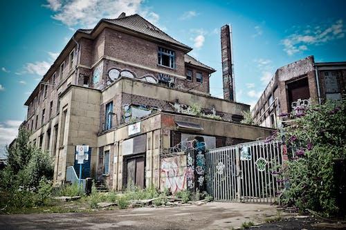 Photos gratuites de abandonné, architecture, art, bâtiment