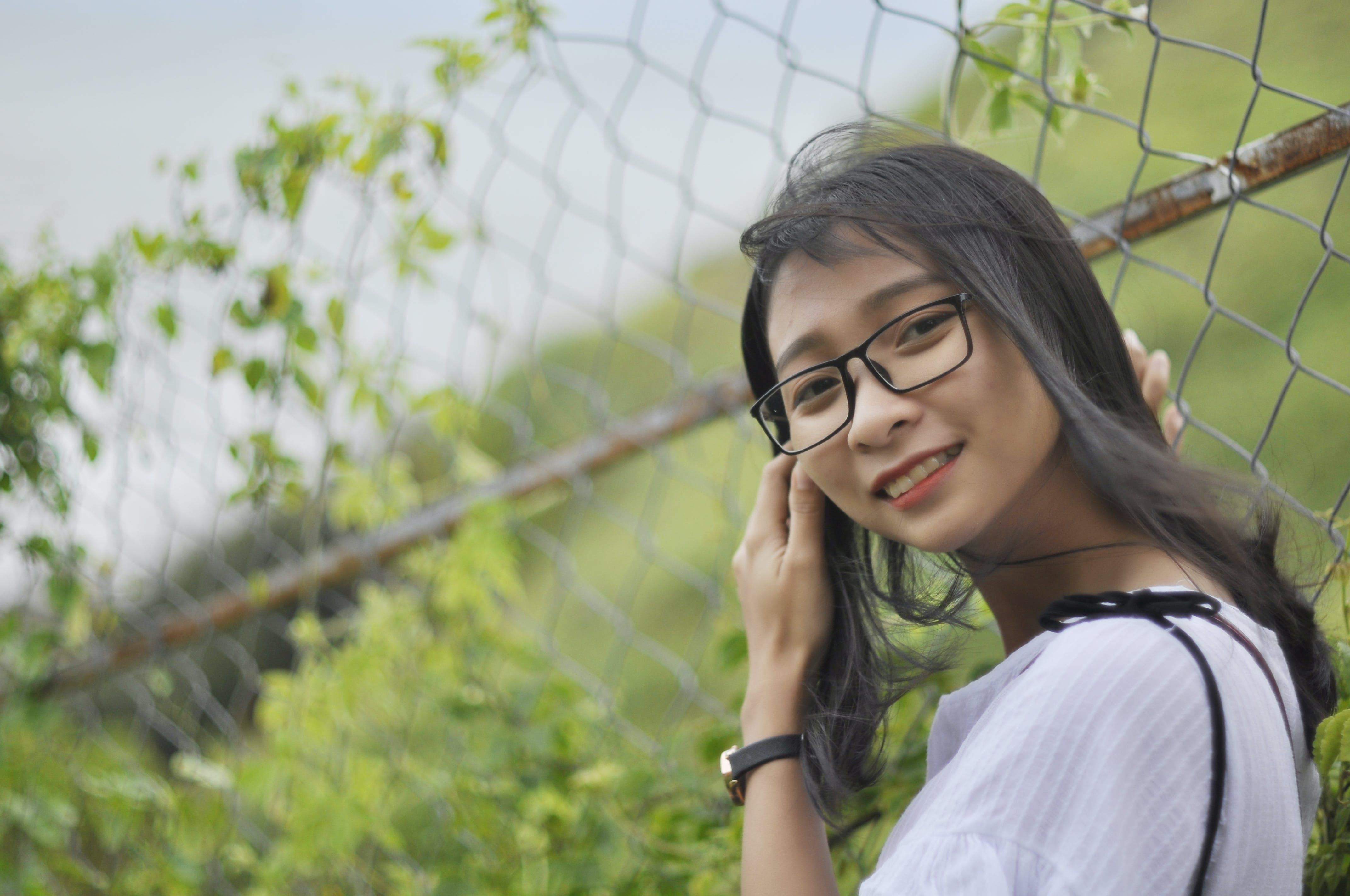 Free stock photo of asian girl, beach