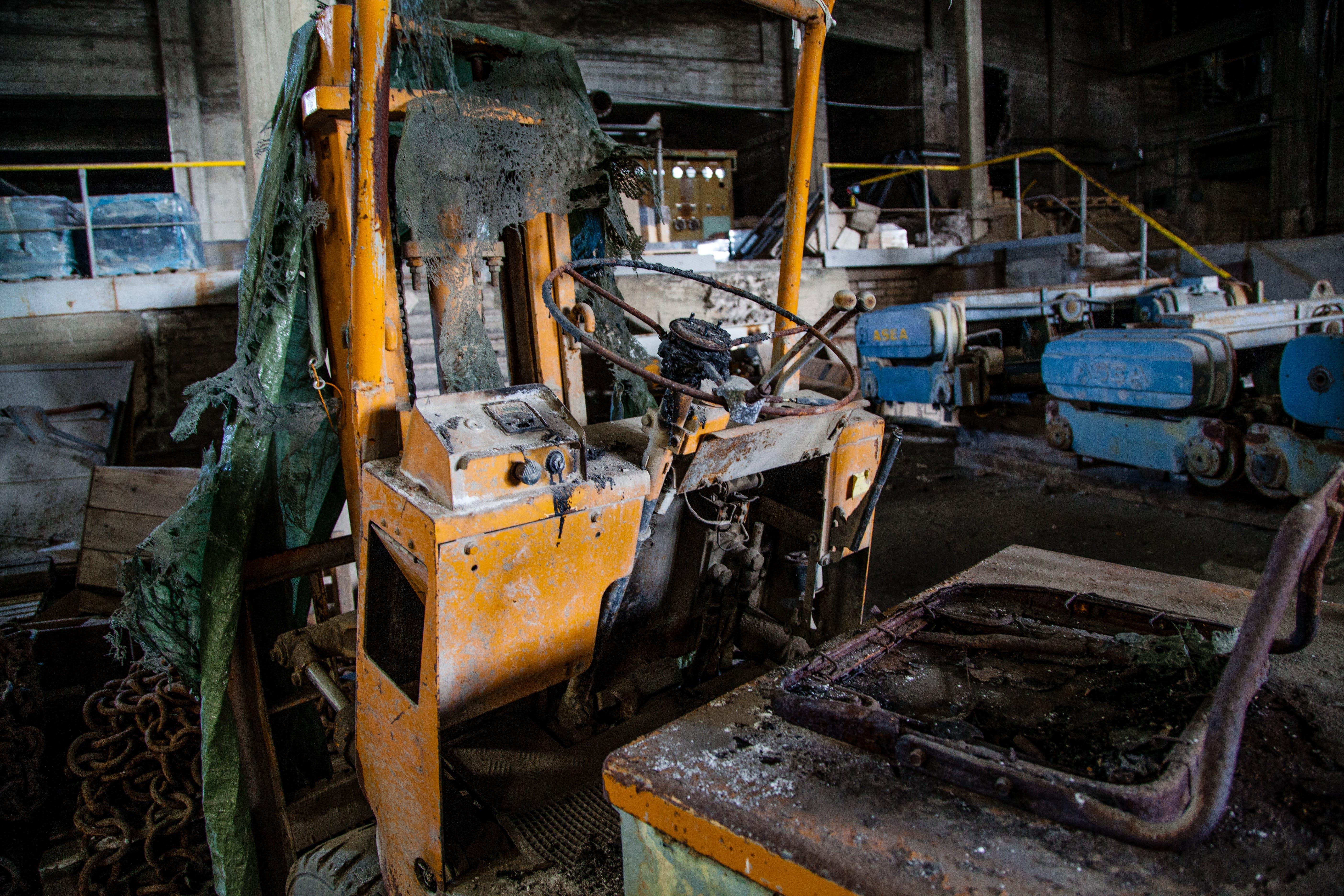 Yellow Metal Equipment