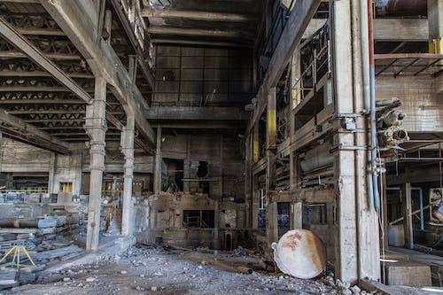 Gratis stockfoto met achtergelaten, gebouw, gebroken, rommel