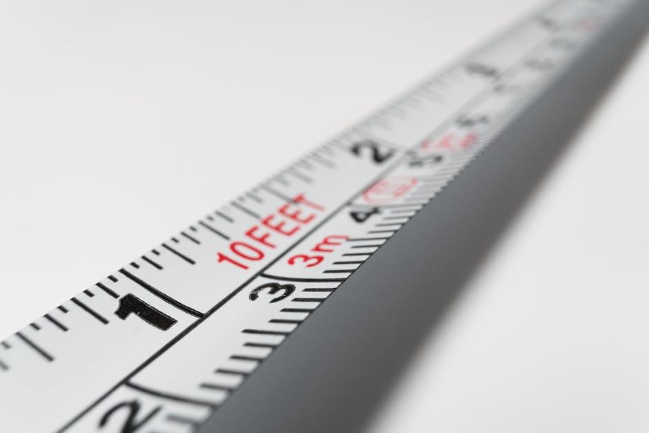 White 10 Feet Steel Tape