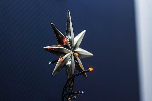 Základová fotografie zdarma na téma hvězda, koncepční, lehký, stříbrný
