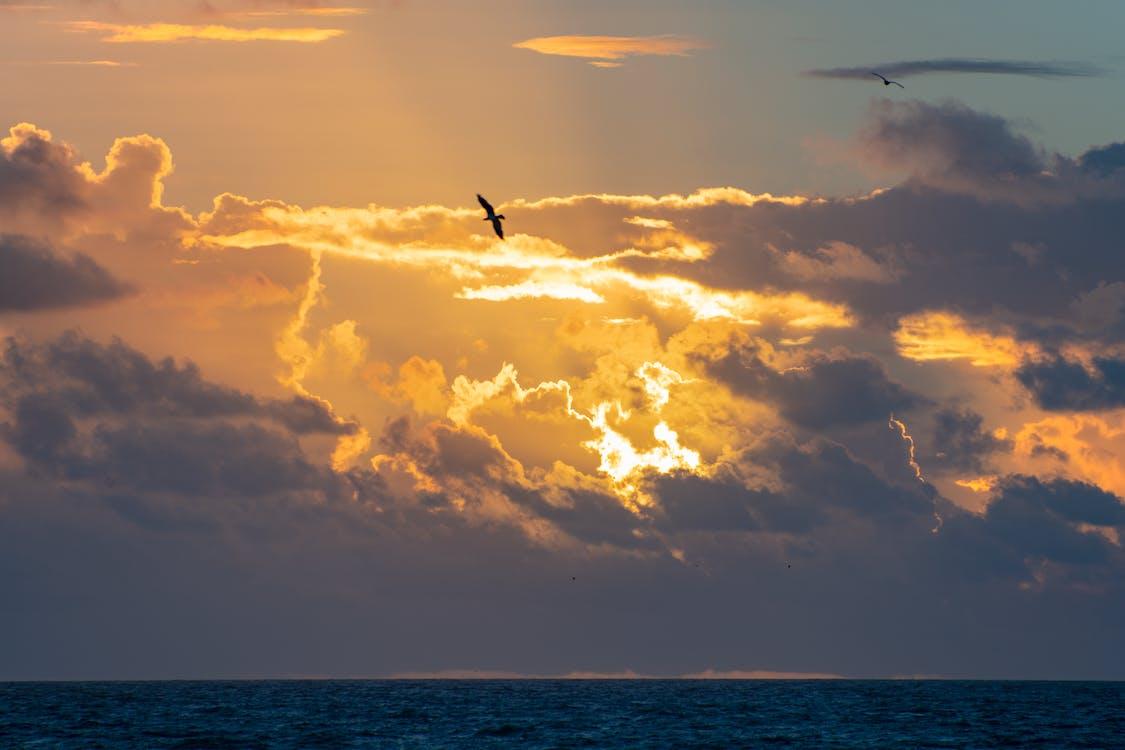 地平線, 天性, 天空
