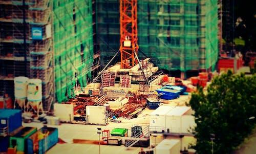 Foto d'estoc gratuïta de arquitectura, construcció, edifici, indústria