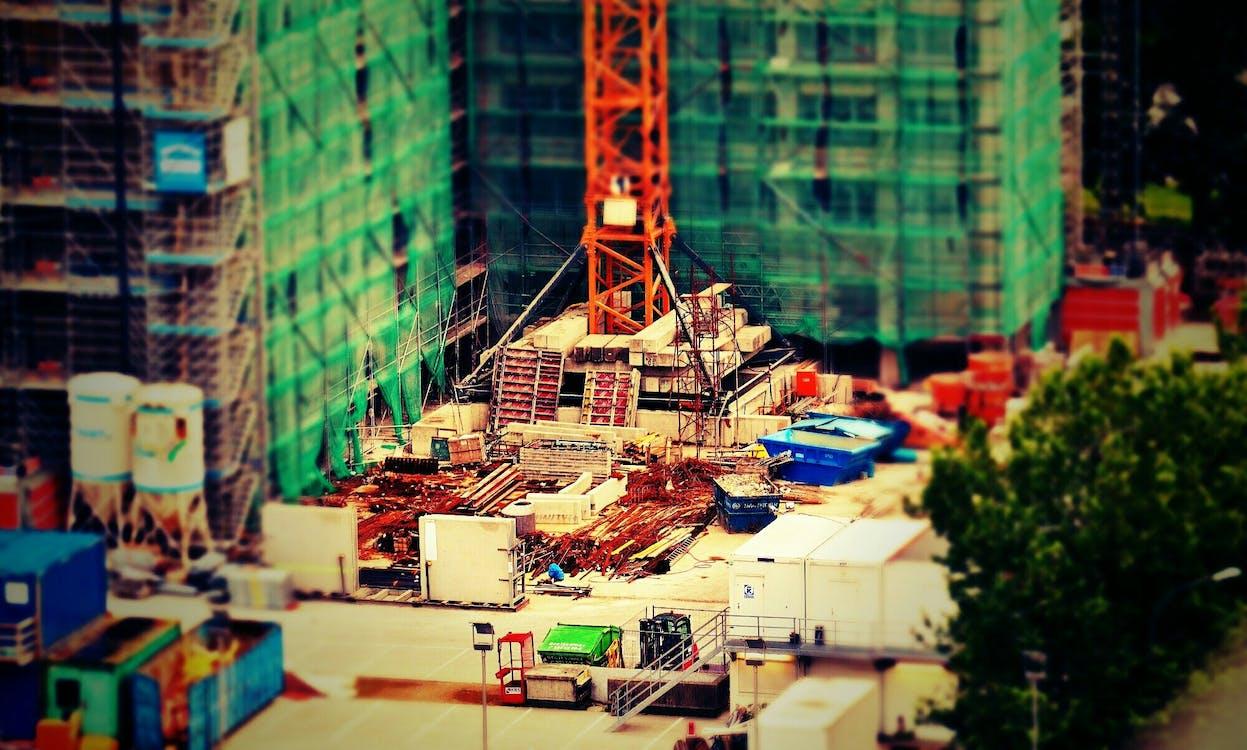 Construction Site Miniture