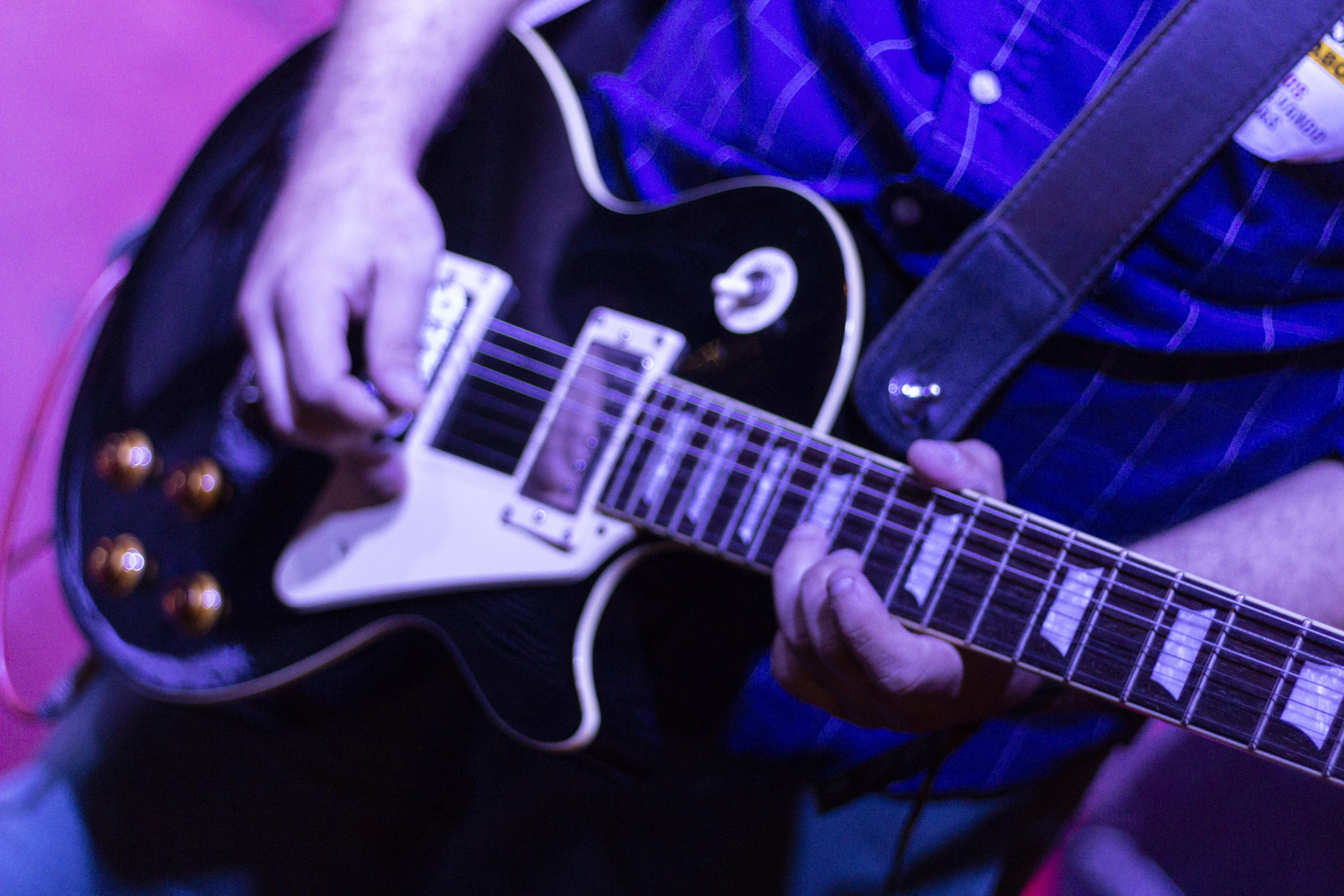 Kostenloses Stock Foto zu eletrische gitarre, gitarre