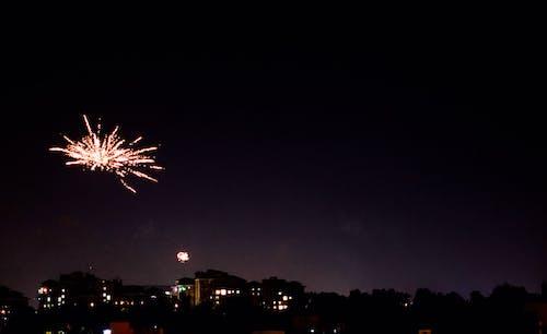 Foto d'estoc gratuïta de ciutat, diwali, galetes salades, llums