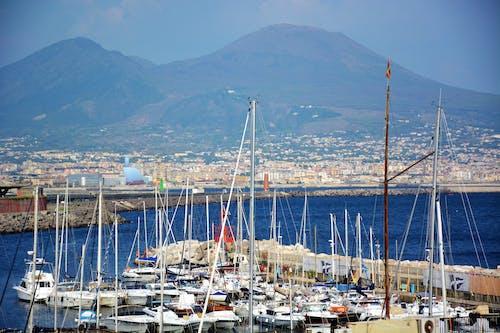 Foto d'estoc gratuïta de Itàlia, nàpols, vesuvius, volcà