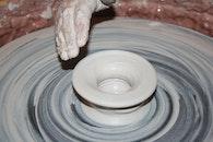 plate, art, hand