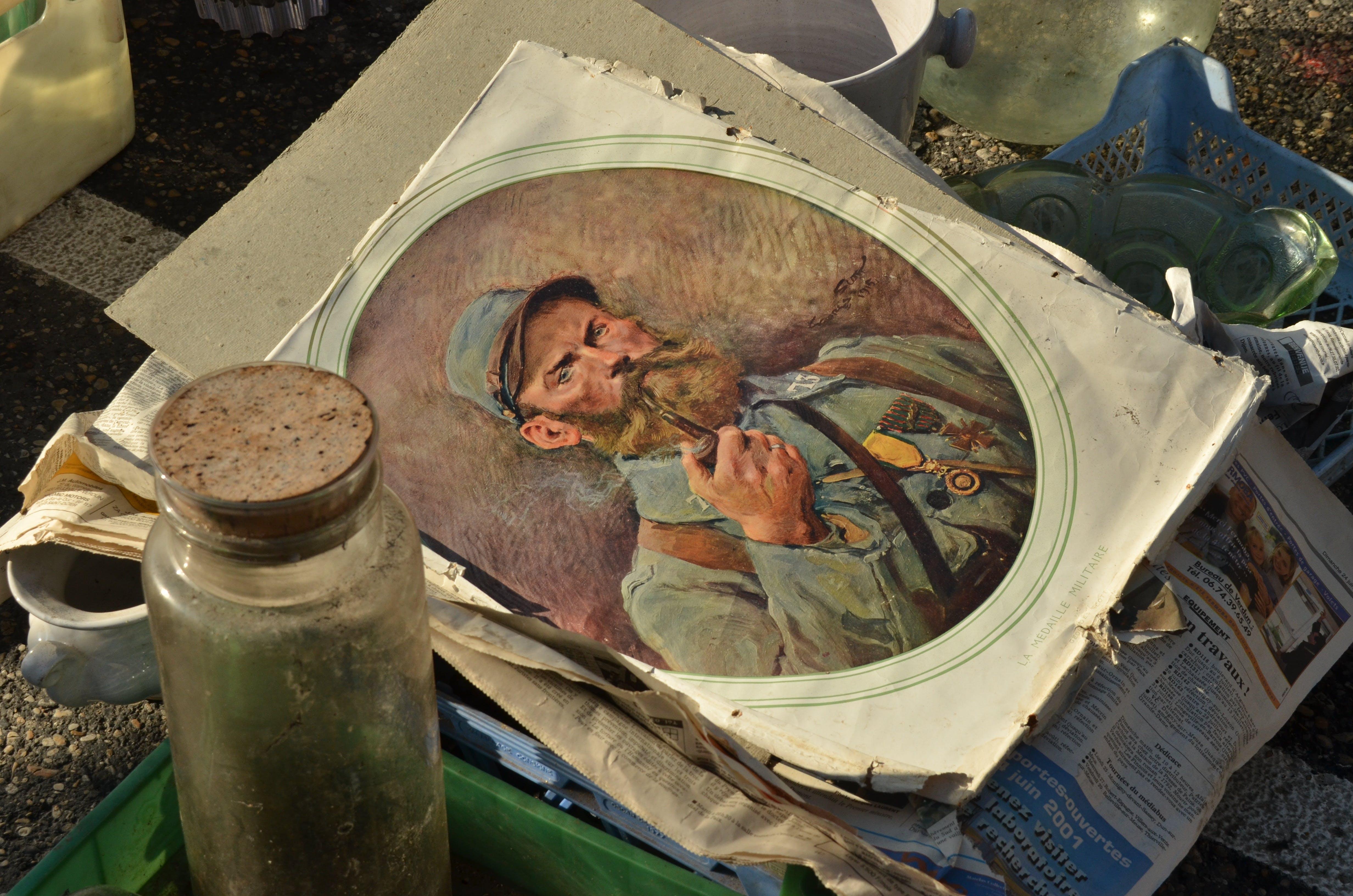 Ingyenes stockfotó antik, befőttes üveg, cső, Férfi témában