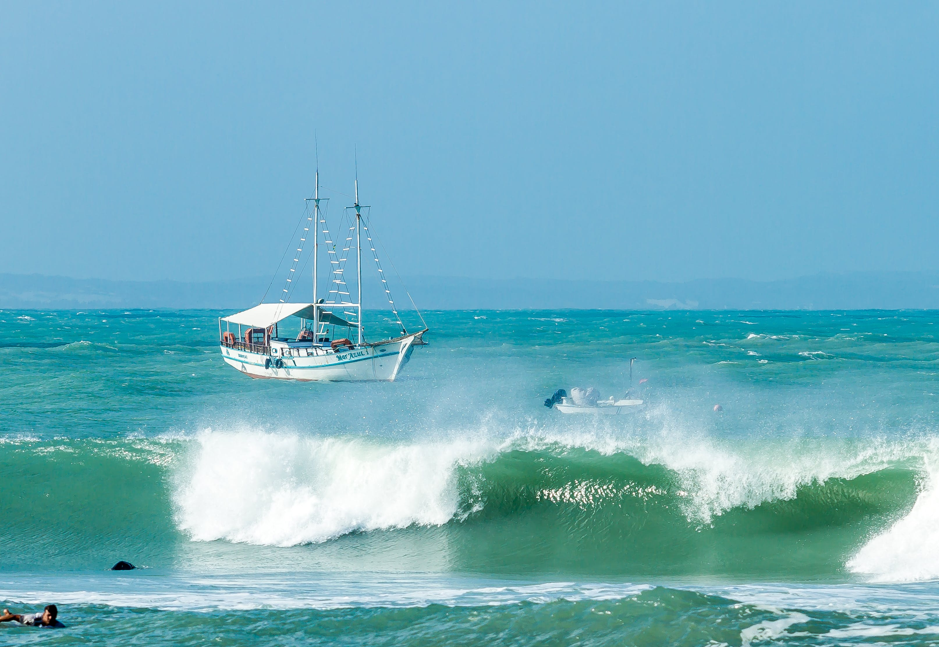 Free stock photo of North Sea, sea, surf, surfboard