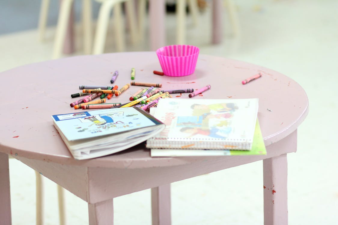 Free stock photo of kid, kid toys, notebook