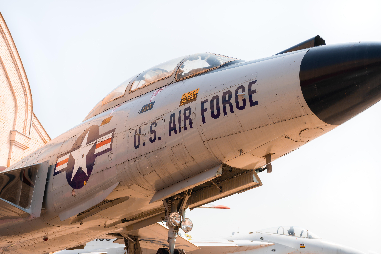 Gray U.s Air Force Jet