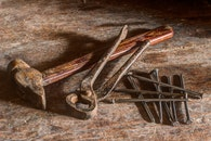 wood, vintage, rust