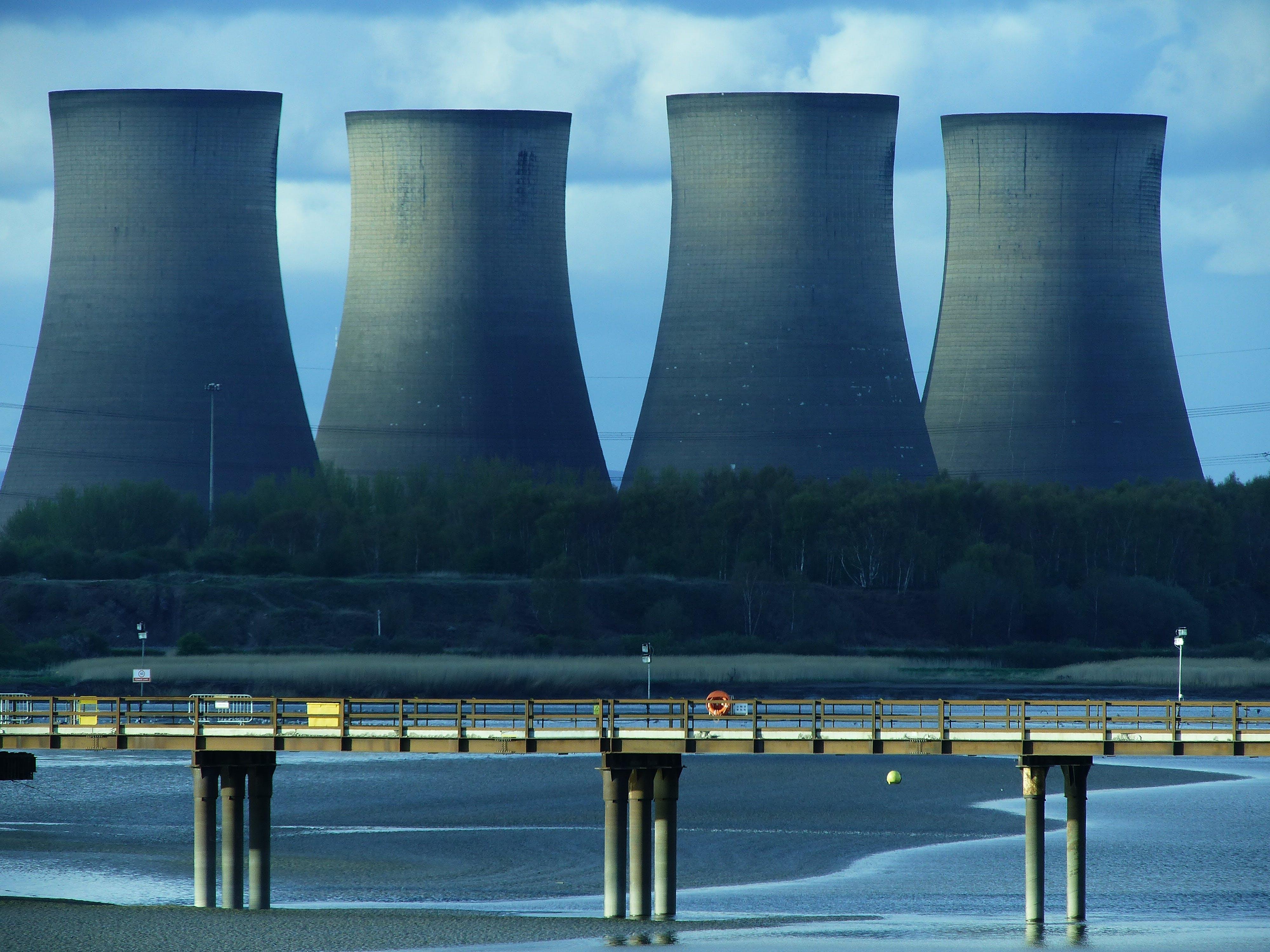 Gratis lagerfoto af bro, damp, energi, hav