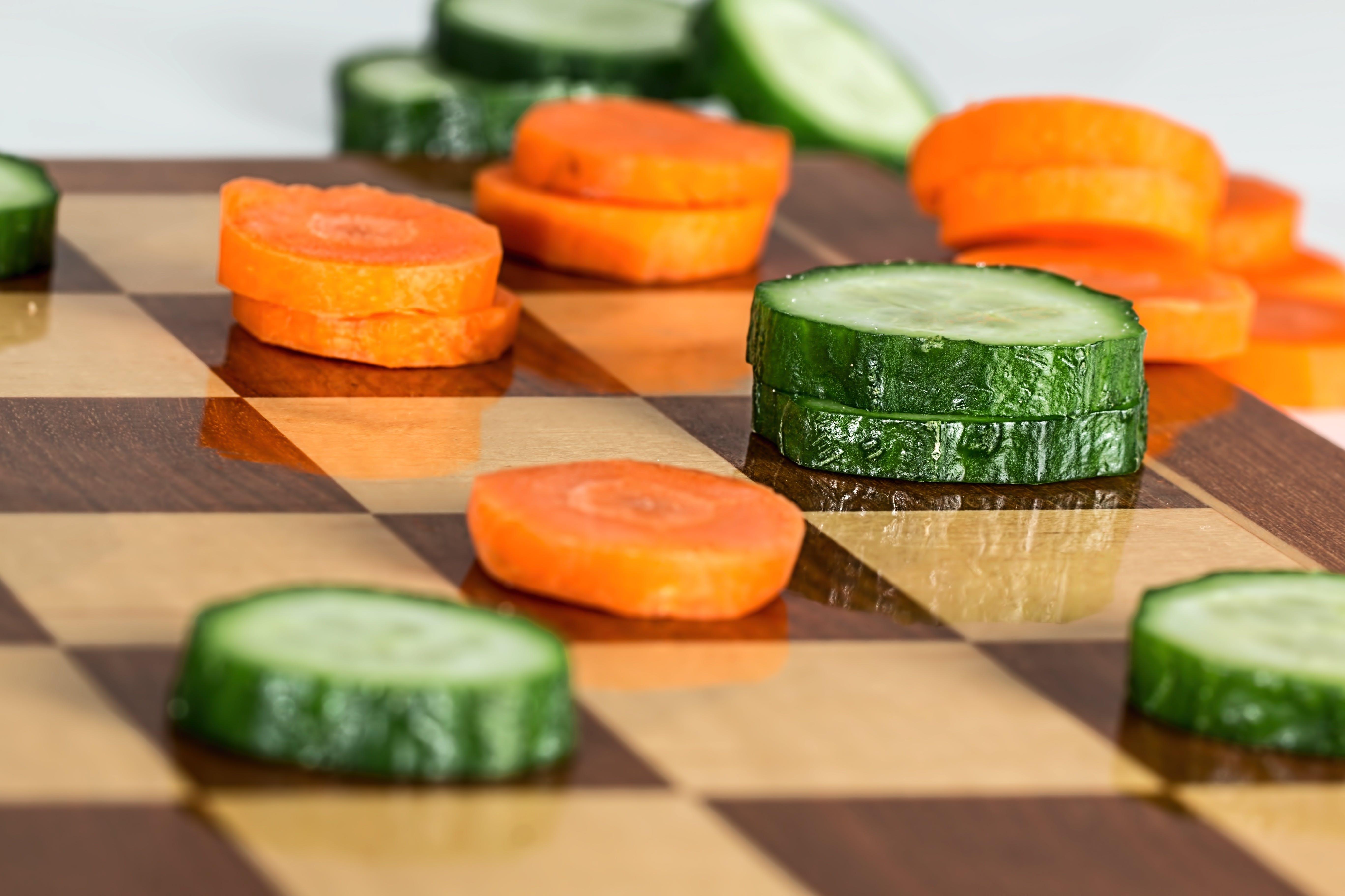 balanced meal, carrot, cooking