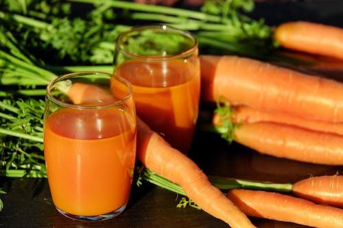 Immagine gratuita di bevanda, carote, cibo, colori