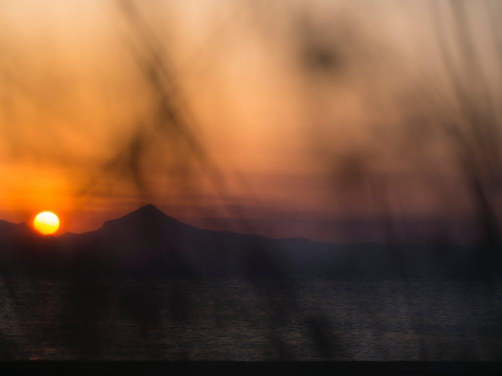 Foto d'estoc gratuïta de capvespre, posta de sol, sol de vespre