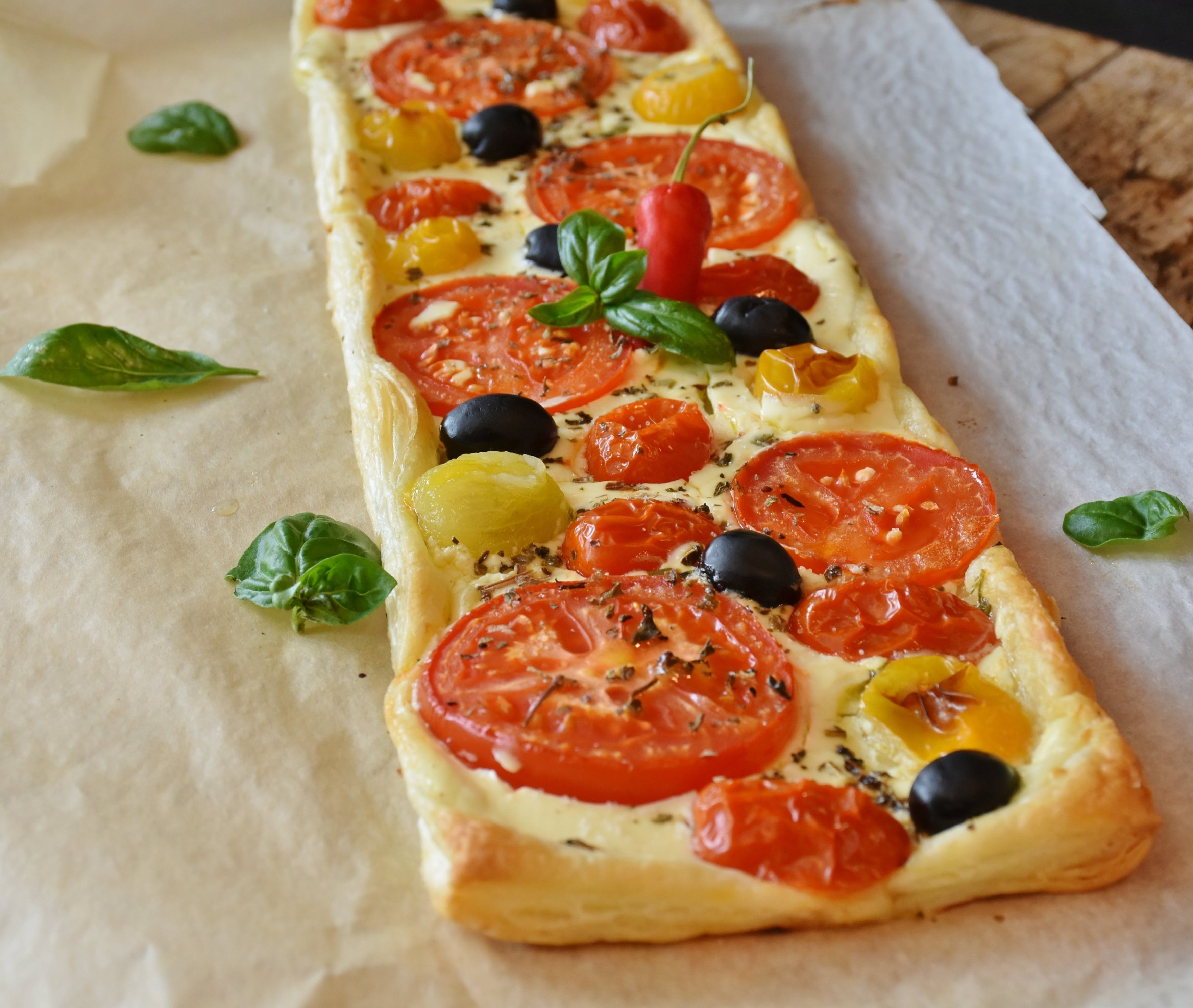 Rectangular Pizza