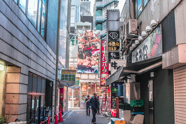 People Walking At The Street