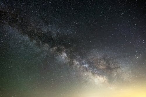 คลังภาพถ่ายฟรี ของ กลางคืน, กาแล็กซี, คืนที่ดาวเต็มท้องฟ้า, จักรวาล