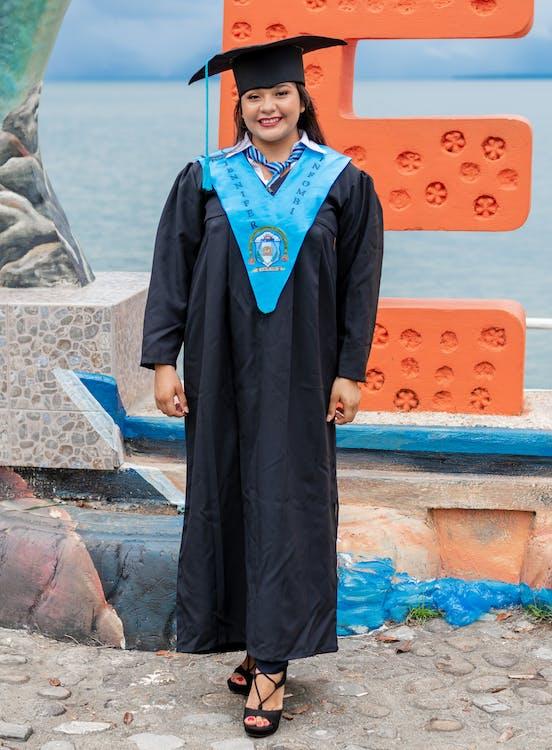 absolvent, akademisch, akademische kleidung