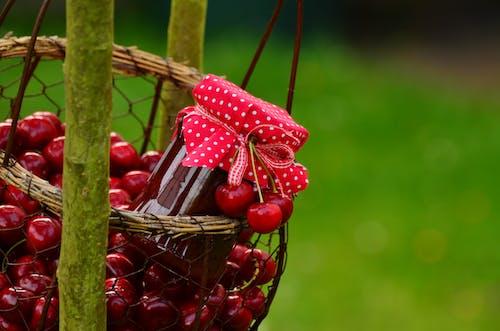 Základová fotografie zdarma na téma barva, bobule, červená, cherry jam