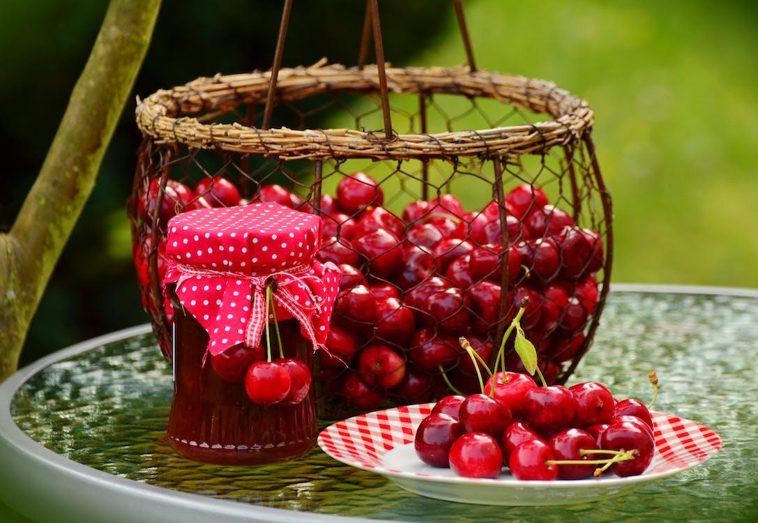baies, cireres, fruites