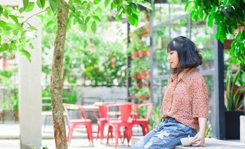 Kostenloses Stock Foto zu asiatische frau, frau, hübsch, informell