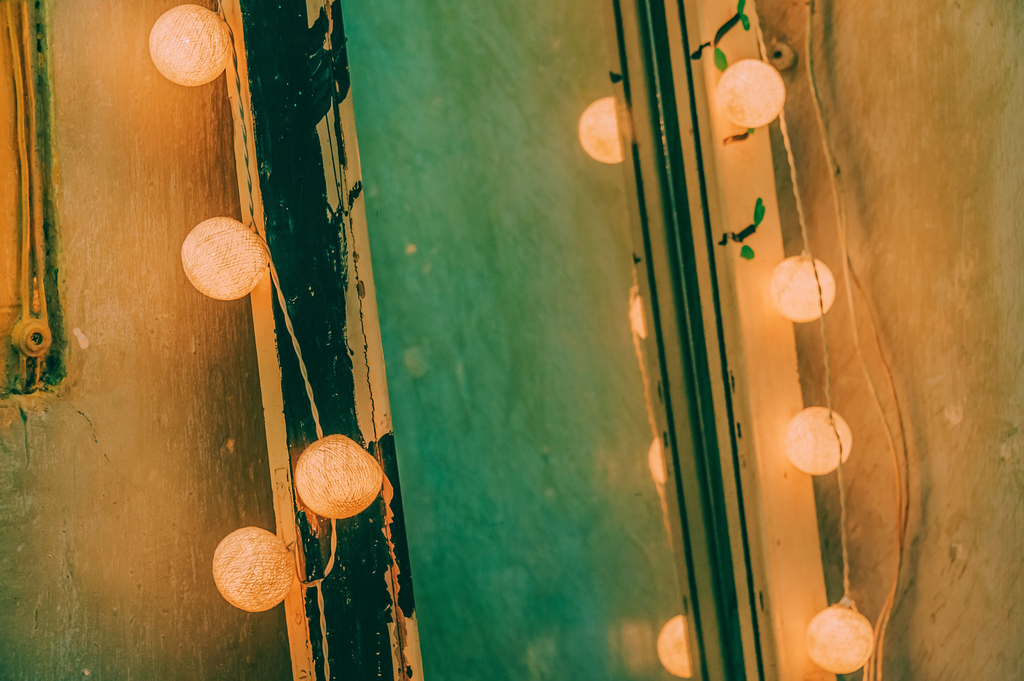 Free stock photo of close-up, colors, lights, string lights
