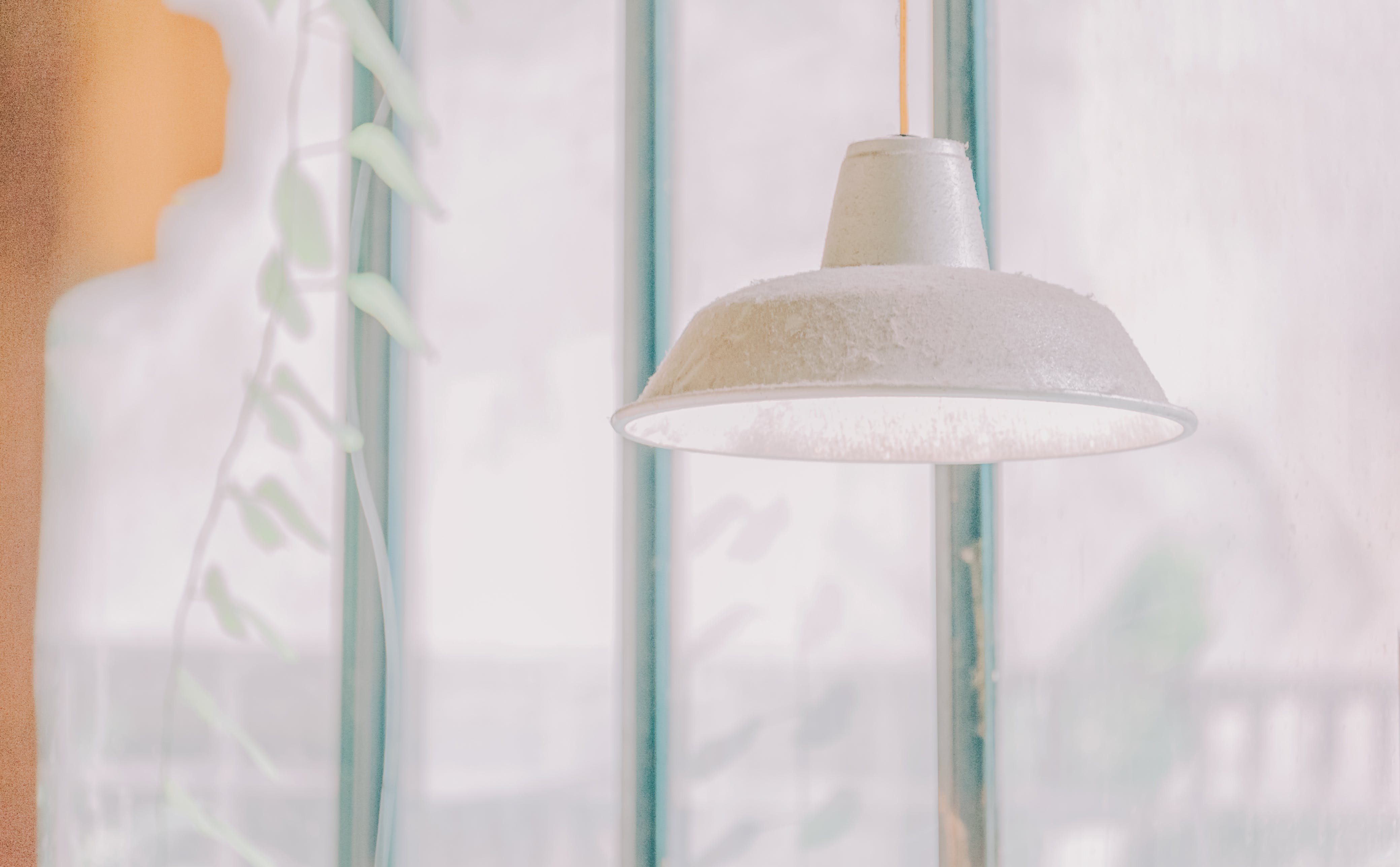 Used White Pendant Lamp