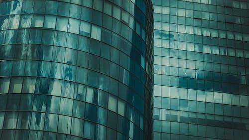 คลังภาพถ่ายฟรี ของ ตึกระฟ้า, สถาปัตยกรรม, อาคาร, เครื่องแก้ว