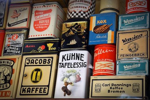 Kostenloses Stock Foto zu essen, kaffee, schild, deutsch