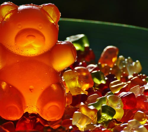 Closeup Photography of Gummy Bears