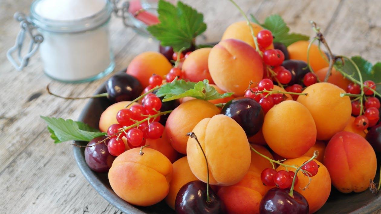 Kostnadsfri bild av aprikoser, äta, frisch