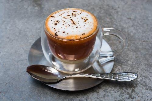 Gratis stockfoto met cafeïne, cappuccino, coffeeshop, donker